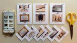 手元画像からIDサイズ絵カードを作る